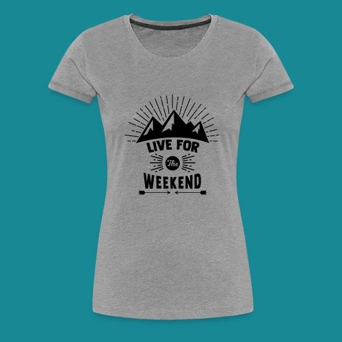 Mountain Rise - Women's Premium T-Shirt