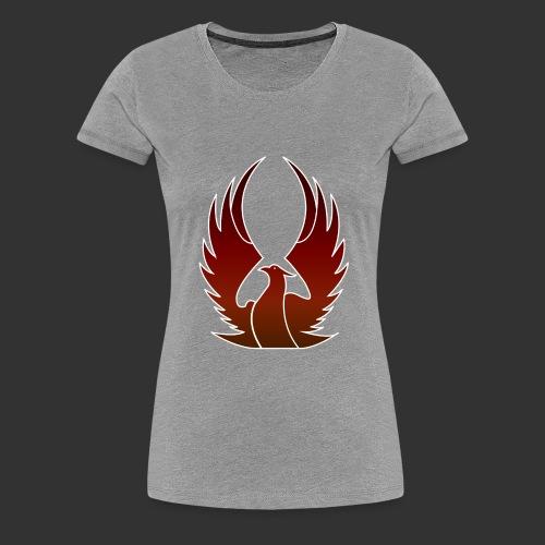 Phenix on fire - T-shirt Premium Femme