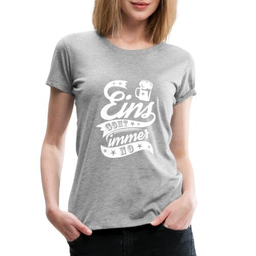 Eins goht immer no - Frauen Premium T-Shirt
