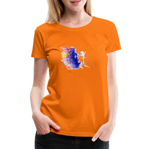 Visage design - T-shirt Premium Femme