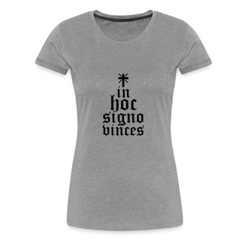 In hoc signo N - Maglietta Premium da donna