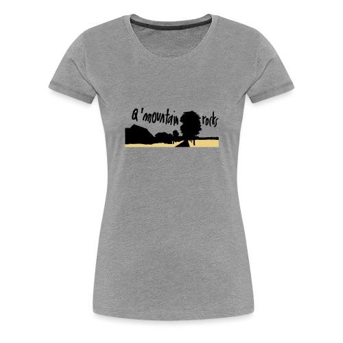 qmountain 02 - Frauen Premium T-Shirt