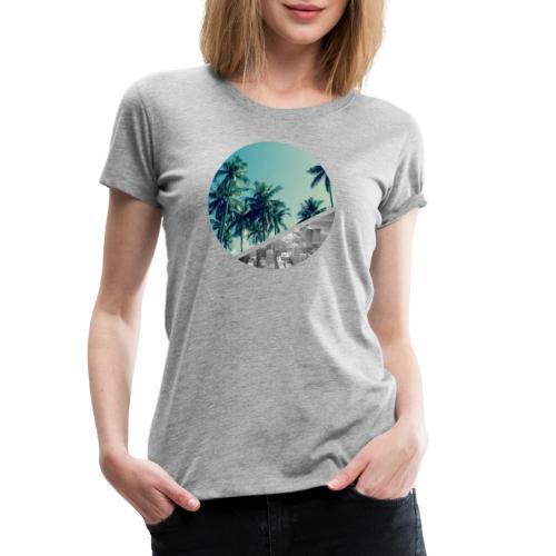 Strand und Stadt - Frauen Premium T-Shirt