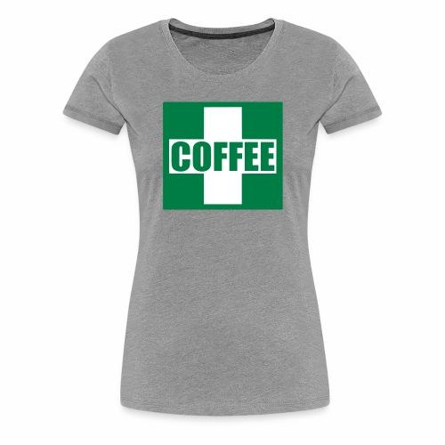 Emergency Coffee - Women's Premium T-Shirt