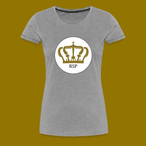 RoyalSiPlus Krone - Frauen Premium T-Shirt