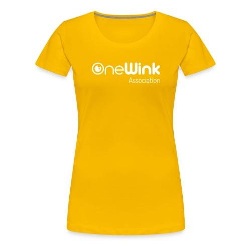 OneWink Association - T-shirt Premium Femme