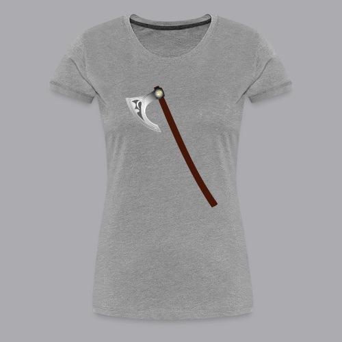 Wikinger Beil - Frauen Premium T-Shirt