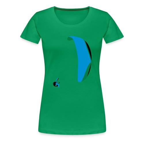 Akrobatik Paragliding - Women's Premium T-Shirt
