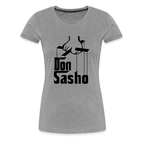 Don Sasho - T-shirt Premium Femme