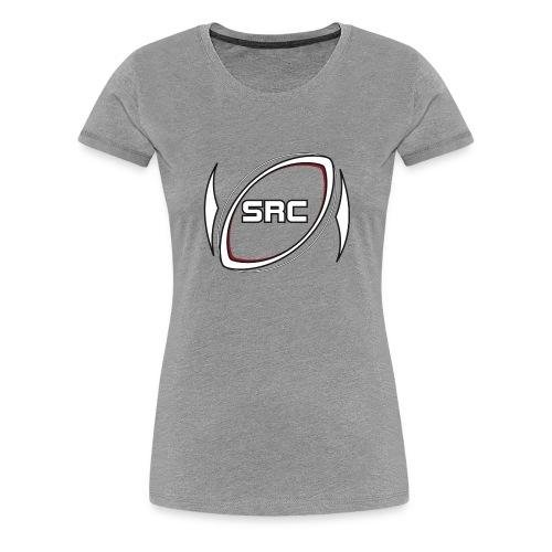 Silkeborg Rugby Club logo - Dame premium T-shirt