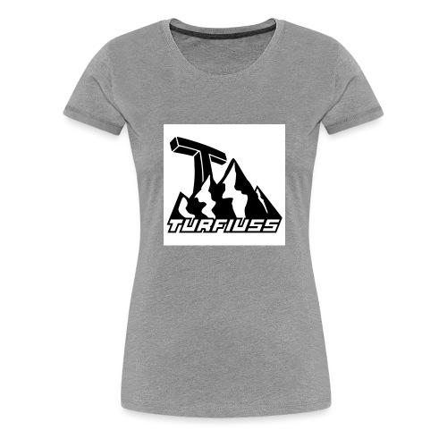 TURFIUSS - Frauen Premium T-Shirt