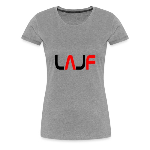 LAJF svart - Premium-T-shirt dam