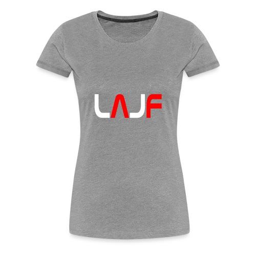 LAJF vit - Premium-T-shirt dam