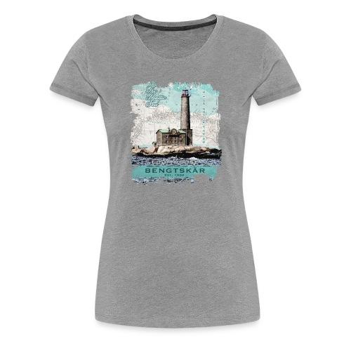 Bengtskär Majakka - Tekstiilit ja lahjatuotteet - Naisten premium t-paita