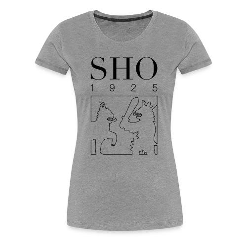 SHO 1925 - Naisten premium t-paita