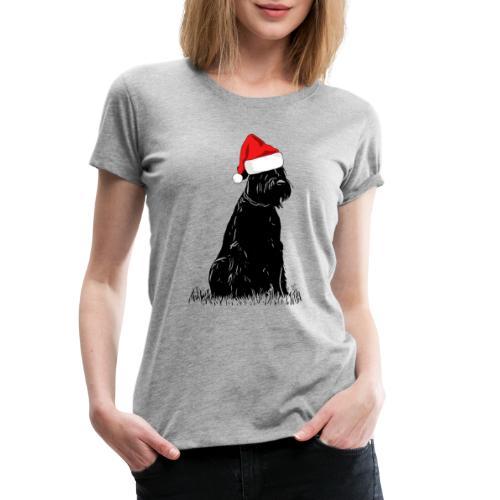 Riesenschnauzer Weihnachten Schnauzer Hund - Frauen Premium T-Shirt