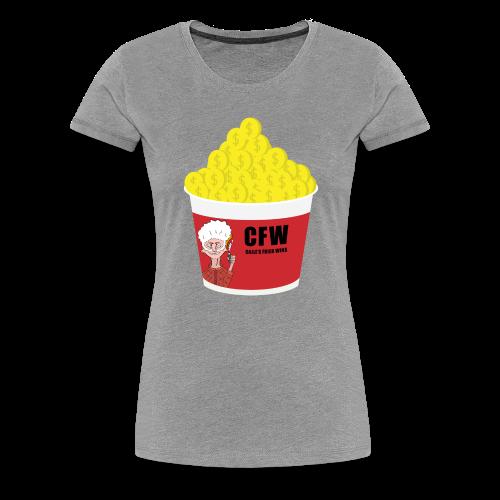 FIRED WIN - Premium-T-shirt dam