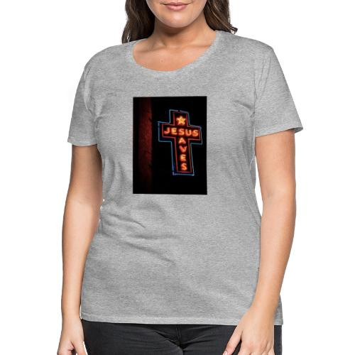 Jesus Saves - Women's Premium T-Shirt