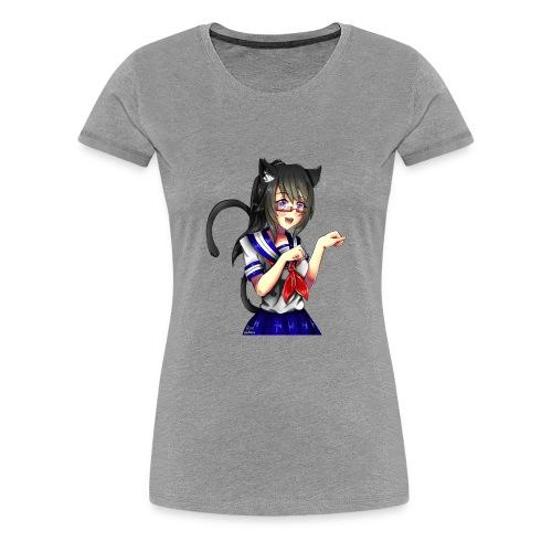 Ayano Aichi, Neko. - T-shirt Premium Femme