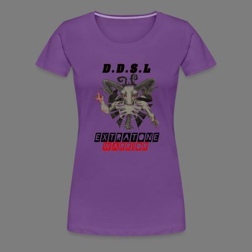 DDSL E W M.A.X - Vrouwen Premium T-shirt