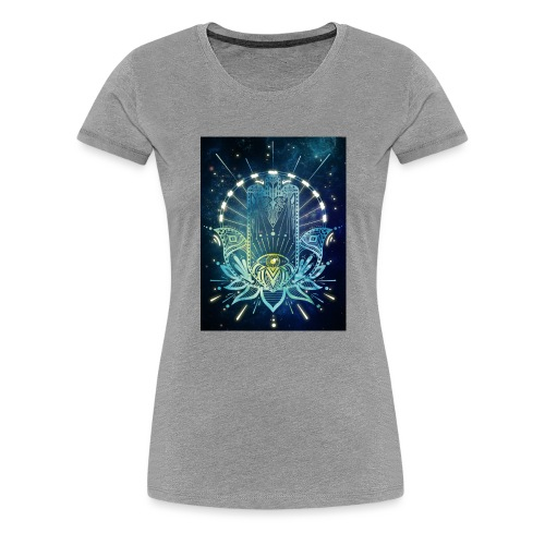 Hamsa Hand - Women's Premium T-Shirt