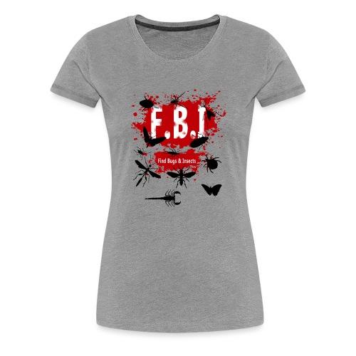 FBI - Naisten premium t-paita