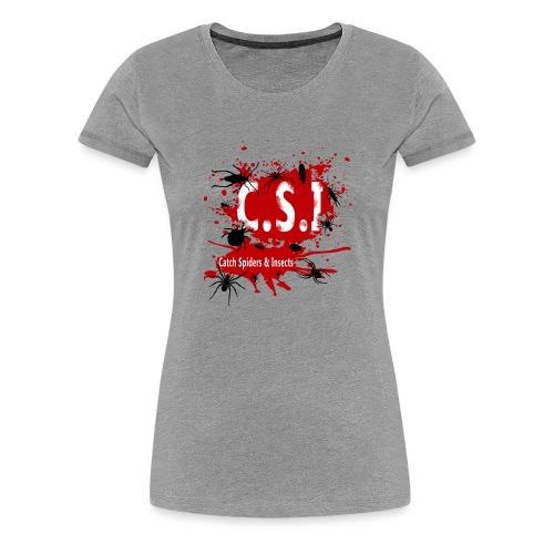 C.S.I - Naisten premium t-paita