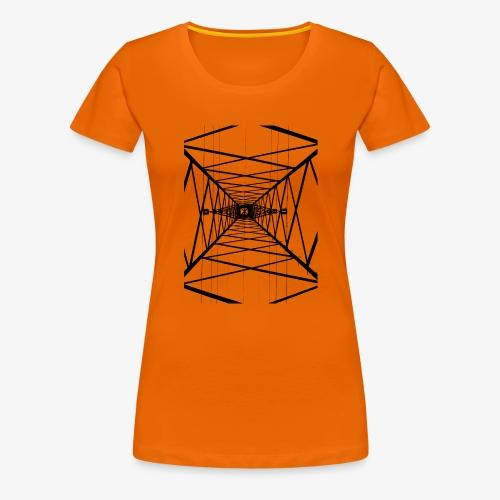 Hochmast V2 Schwarz - Frauen Premium T-Shirt