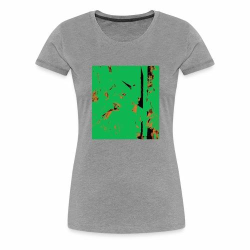 Dancers Pink and Green - Frauen Premium T-Shirt