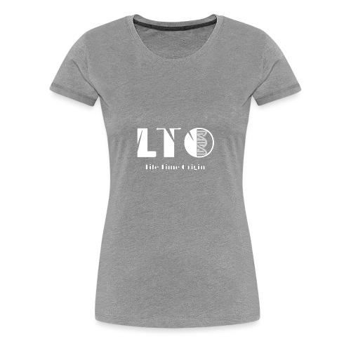 LTO blanc - T-shirt Premium Femme