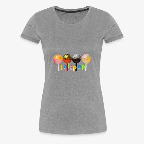 Sucette bonbon Lolipop - T-shirt Premium Femme