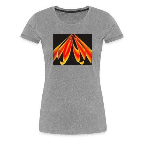 Herz jpg - Frauen Premium T-Shirt