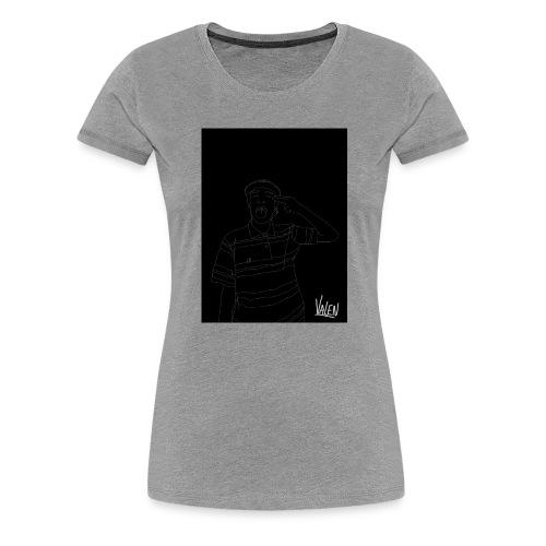 BlancoYnegro - Camiseta premium mujer