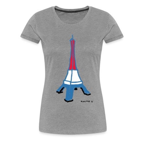 Paris Tour Eiffel - T-shirt Premium Femme