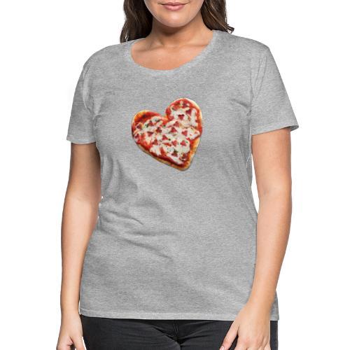 Pizza a cuore - Maglietta Premium da donna