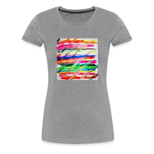 Rainbow Cross - T-shirt Premium Femme