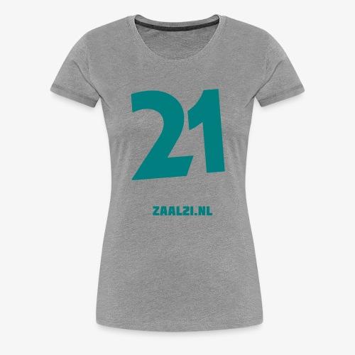 zaal-achterkant - Vrouwen Premium T-shirt