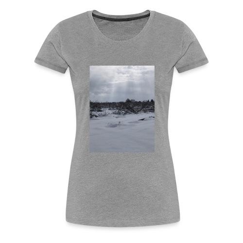 snow for days - Women's Premium T-Shirt