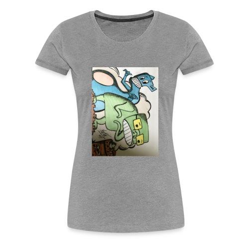 mostous - Maglietta Premium da donna