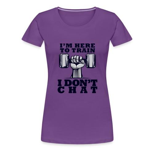Train Chat - Naisten premium t-paita