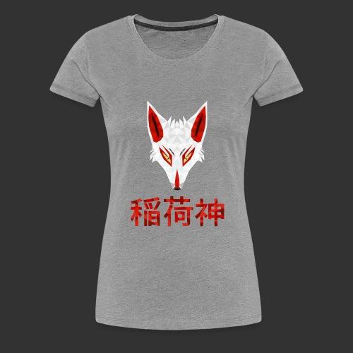 Inari Fox (稲荷神) - T-shirt Premium Femme