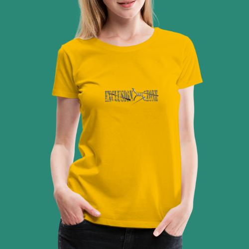EXCLUSION ZONE - Frauen Premium T-Shirt