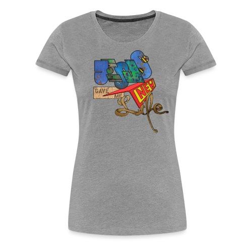 JesusNewLife - Frauen Premium T-Shirt