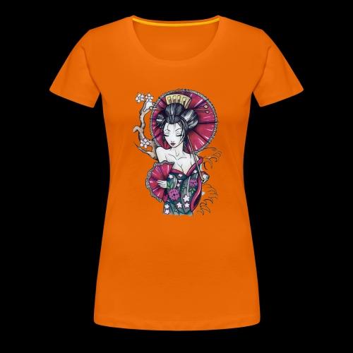 Geisha2 - Maglietta Premium da donna
