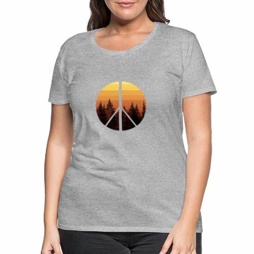 peace and sun - T-shirt Premium Femme