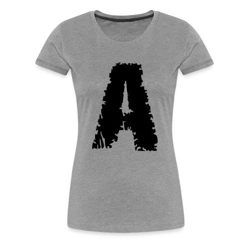 Zombie , Schriftart , - Frauen Premium T-Shirt