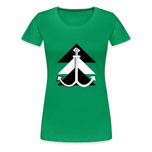 Anker 1 - Frauen Premium T-Shirt