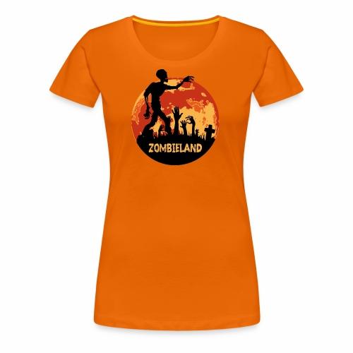 Zombieland Halloween Design - Frauen Premium T-Shirt