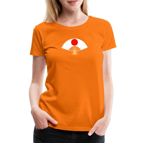 Eventail japonais - T-shirt Premium Femme