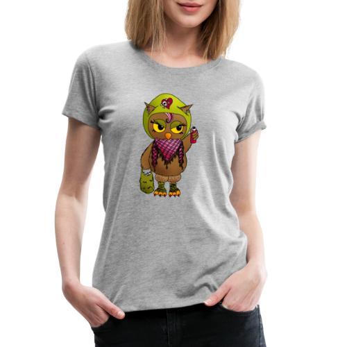Eule FINE - Eulenclique - Frauen Premium T-Shirt